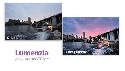 دانلود پلاگین تنظیم درخشندگی تصاویر در فتوشاپ - Lumenzia v8.0.0