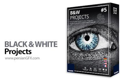 دانلود نرم افزار ساخت تصاویر سیاه و سفید - Franzis BLACK & WHITE Projects v5.52.02653