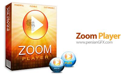 دانلود نرم افزار پخش کننده فایل های صوتی و تصویری - Zoom Player FLEX v8.6.1 + MAX v13.7 Build 1370