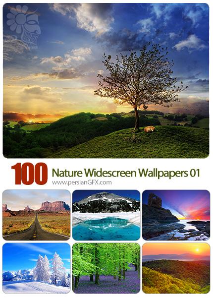 دانلود مجموعه والپیپرهای عریض طبیعت - Most Wanted Nature Widescreen Wallpapers 01
