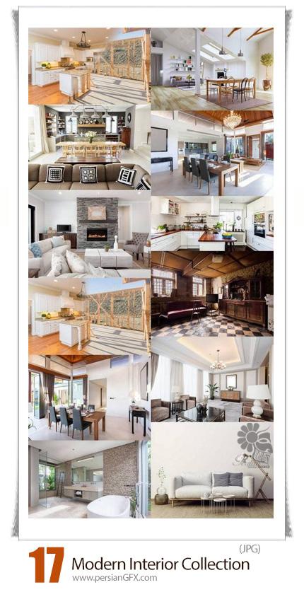 دانلود تصاویر با کیفیت طراحی داخلی مدرن - Modern Interior Collection