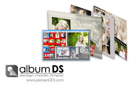 دانلود نرم افزار طراحی و ساخت آلبوم عکس عروس و داماد - Album DS v11.1.0