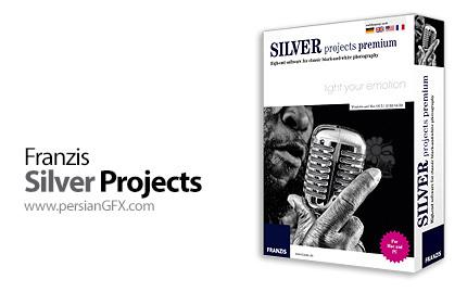 دانلود نرم افزار تبدیل سریع عکس های رنگی به تصاویر سیاه و سفید - Franzis Silver Projects Premium v1.14.02132