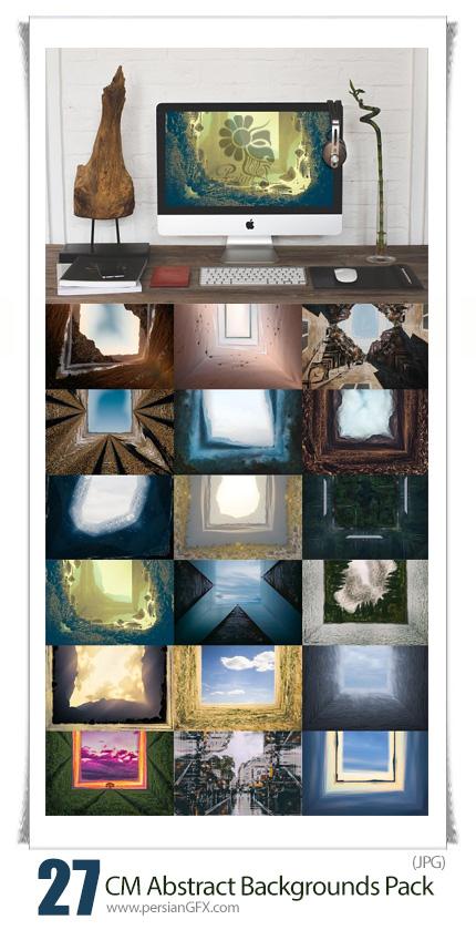 دانلود مجموعه تصاویر با کیفیت بک گراند های انتزاعی متنوع - CreativeMarket Abstract Backgrounds Pack