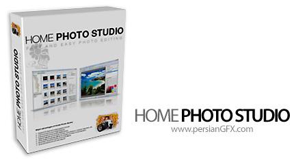 دانلود نرم افزار ویرایش تصاویر و افزایش کیفیت عکس - Home Photo Studio v10.0