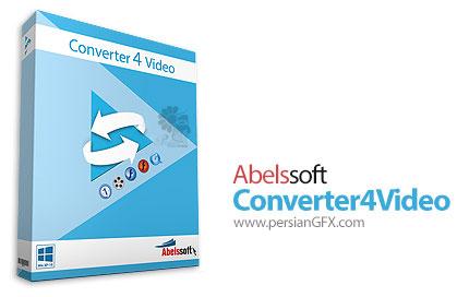 دانلود نرم افزار تبدیل فرمت ویدئو - Abelssoft Converter4Video 2017 v4.1
