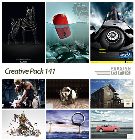 دانلود تصاویر تبلیغاتی متنوع - 141 Creative Pack