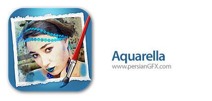 دانلود نرم افزار ساخت نقاشی آبرنگی از تصاویر دیجیتال - JixiPix Aquarella v1.30
