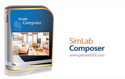 دانلود نرم افزار ساخت صحنه های سه بعدی، رندرینگ و ساخت انیمیشن سه بعدی - SimLab Composer 8 v8.1.5 x64