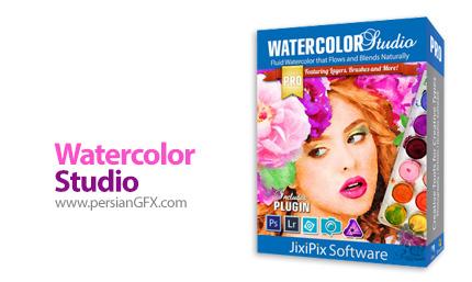 دانلود نرم افزار تبدیل تصاویر به طرح آبرنگی نیمه شفاف - Jixipix Watercolor Studio v1.3.1 x64