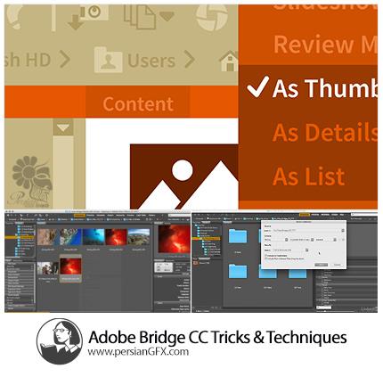 دانلود آموزش تکنیک و ترفندهای نرم افزار ادوبی بریج سی سی از لیندا - Lynda Adobe Bridge CC Tips Tricks And Techniques