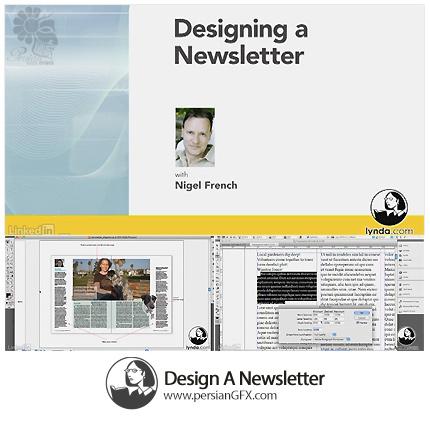دانلود آموزش طراحی یک روزنامه در ایندیزاین سی سی از لیندا - Lynda Design A Newsletter