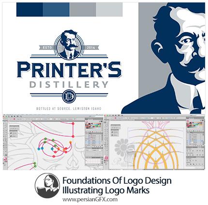 دانلود آموزش مبانی طراحی لوگو در ایلوستریتور سی سی از لیندا - Lynda Foundations Of Logo Design Illustrating Logo Marks