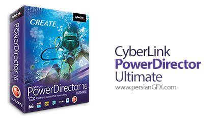 دانلود نرم افزار ویرایش حرفه ای فیلم همراه با امکاناتی ویژه - CyberLink PowerDirector Ultimate v16.0.2101.0
