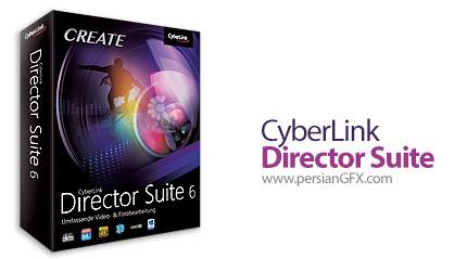 دانلود مجموعه نرم افزارهای ویرایشگر فایل های تصویری، ویدئویی و صدا - CyberLink Director Suite v6.0