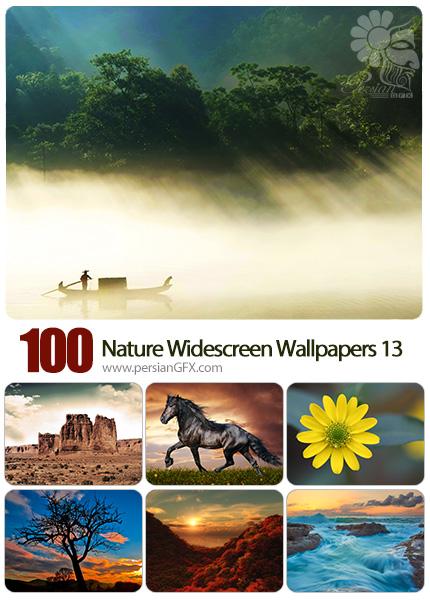 دانلود مجموعه والپیپرهای عریض طبیعت - Most Wanted Nature Widescreen Wallpapers 13