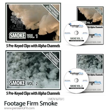 دانلود مجموعه فوتیج ابر و دود - Footage Firm Smoke