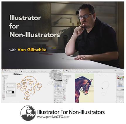 دانلود آموزش ایلوستریتور برای غیر ایلوستریتوری ها از لیندا - Lynda Illustrator For Non-Illustrators