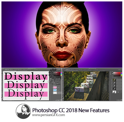 دانلود آموزش ویژگی های جدید فتوشاپ سی سی 2018 از لیندا - Lynda Photoshop CC 2018 New Features