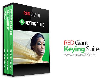 دانلود مجموعه ابزارهای انجام Keying در افترافکت - Red Giant Keying Suite v11.1.9 x64