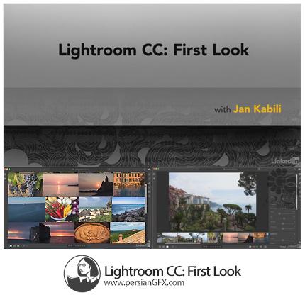 دانلود آموزش لایت روم سی سی: نگاه اول از لیندا - Lynda Lightroom CC: First Look