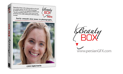 دانلود پلاگین فتوشاپ روتوش و آرایش عکس - Digital Anarchy Beauty Box Photo 4.0.12