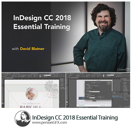 دانلود آموزش نکات ضروری ایندیزاین سی سی 2018 از لیندا - Lynda InDesign CC 2018 Essential Training