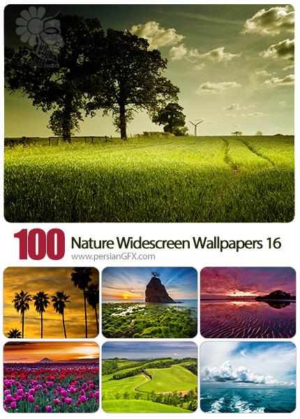 دانلود مجموعه والپیپرهای عریض طبیعت - Most Wanted Nature Widescreen Wallpapers 16