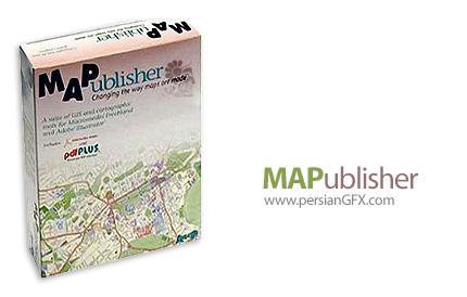 دانلود پلاگین نقشه کشی برای ایلوستریتور - MAPublisher v10.5 + v10.2 For Adobe Illustrator