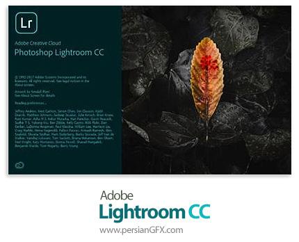دانلود نرم افزار ادوبی فتوشاپ لایتروم؛ نرم افزار ویرایشگر دیجیتالی تصاویر - Adobe Photoshop Lightroom CC v1.2.0.10 x64