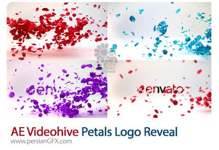 دانلود پروژه آماده افترافکت نمایش لوگو با افکت پراکندگی گلبرگ به همراه آموزش ویدئویی از ویدئوهایو - Videohive Petals Logo Reveal After Effects Template