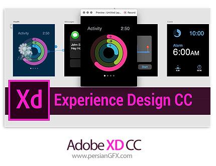 دانلود نرم افزار طراحی و نمونه سازی رابط کاربری و تجربه کاربری - Adobe XD CC 2018 v4.0.12.6 x64