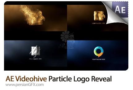 دانلود پروژه آماده افترافکت نمایش لوگو با افکت ذرات درخشان طلایی، سیلور و انعکاس رنگ از ویدئوهایو - Videohive Particle Logo Reveal After Effects Template