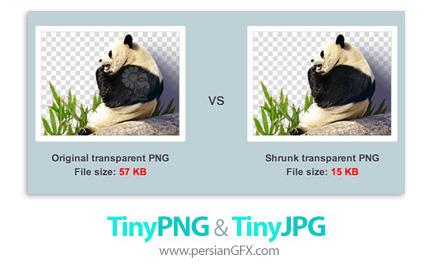 دانلود پلاگین کاهش حجم تصاویر در فتوشاپ - TinyPNG and TinyJPG v2.3.9 x86/x64 for Adobe Photoshop