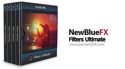 دانلود پلاگین افتر افکت ویرایش رنگ فیلم - NewblueFX Filters 5.0.171209 Ultimate