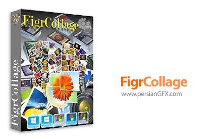 دانلود نرم افزار ساخت تصاویر کلاژ در قالب های مختلف متنی، شکلی و عددی - FigrCollage Professional Edition v2.5.6