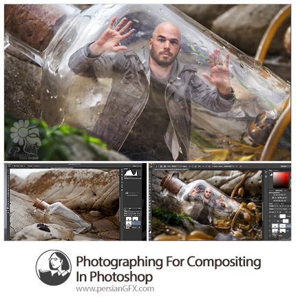 دانلود آموزش عکاسی و ترکیب تصاویر در فتوشاپ از لیندا - Lynda Photographing For Compositing In Photoshop