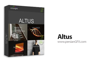 دانلود نرم افزار حذف نویز های اضافی و تولید رندر های سه بعدی با کیفیت - Innobright Altus v1.9.3 x64