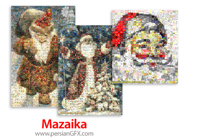 دانلود نرم افزار ساخت تصاویر موزاییکی - Mazaika v4.1d