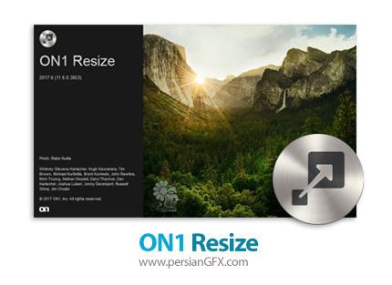 دانلود نرم افزار ویرایش و تغییر سایز تصاویر بدون کاهش کیفیت - ON1 Resize 2018.1 v12.1.1.5157 x64