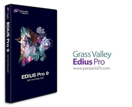 دانلود ادیوس، نرم افزار میکس و مونتاژ فیلم - Grass Valley Edius Pro v9.10.3086 x64