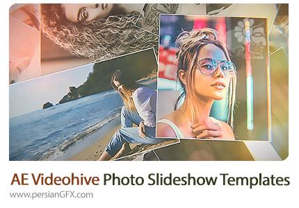دانلود پروژه آماده افترافکت اسلایدشو تصاویر به همراه آموزش ویدئویی از ویدئوهایو - Videohive Photo Slideshow After Effects Templates