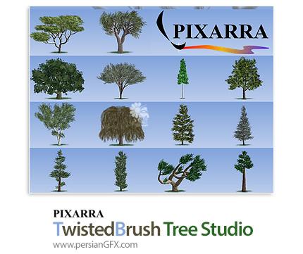 دانلود نرم افزار طراحی دو بعدی درخت و پوشش گیاهی - Pixarra TwistedBrush Tree Studio v2.17
