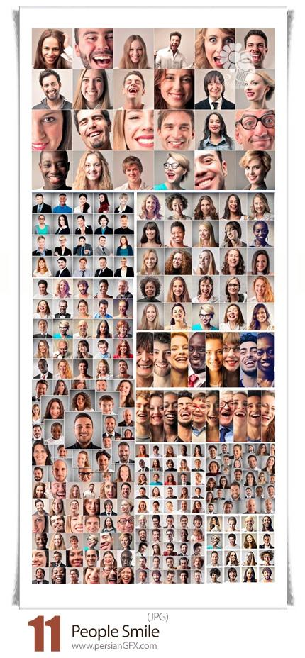 دانلود تصاویر با کیفیت لبخند مردم مختلف - People Smile