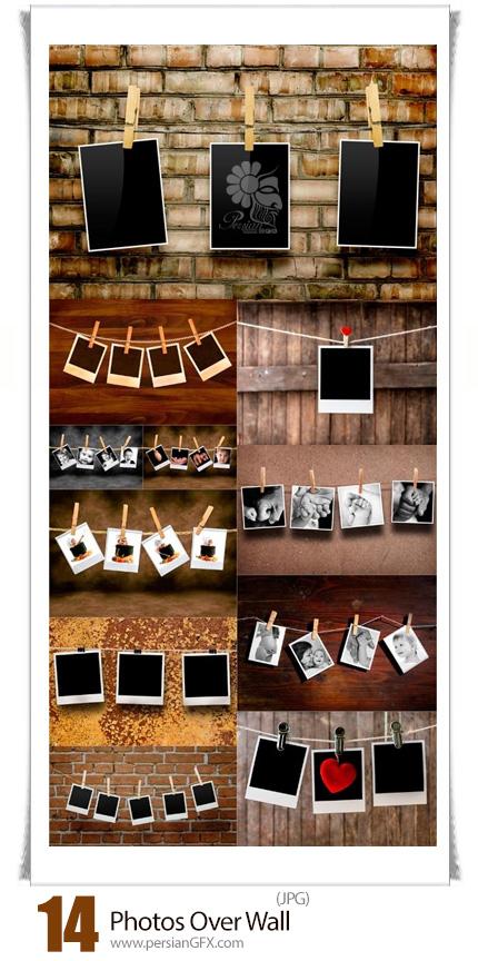 دانلود تصاویر با کیفیت عکس های روی دیوار - Photos Over Wall