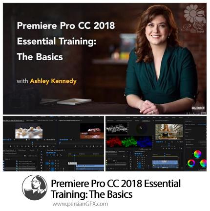 دانلود آموزش نکات ضروری مقدماتی پریمیر سی سی 2018 از لیندا - Lynda Premiere Pro CC 2018 Essential Training: The Basics