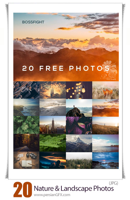 دانلود 20 عکس با کیفیت مناظر طبیعی شگفت انگیز - 20 Amazing Nature And Landscape Photos