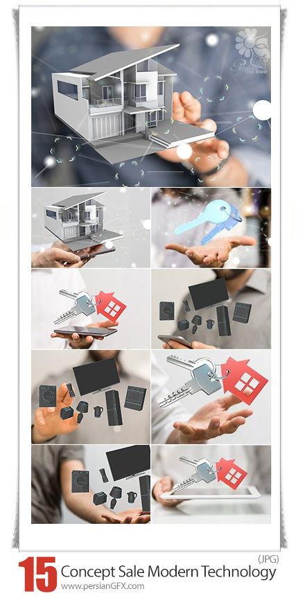 دانلود تصاویر با کیفیت مفهومی خرید و فروش با تکنولوژی مدرن - Business Concept Purchase Sale Modern Technology