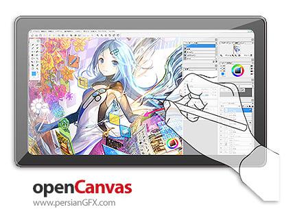 دانلود نرم افزار طراحی و نقاشی تصاویر - OpenCanvas v7.0.15 x86/x64