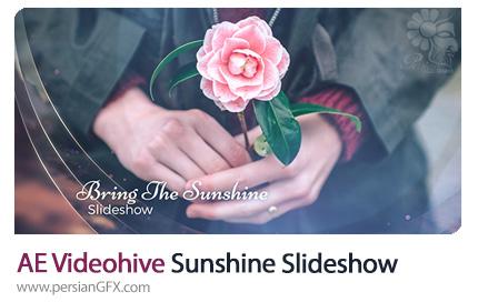 دانلود اسلایدشو تصاویر با افکت فانتزی در افترافکت از ویدئوهایو - Videohive Sunshine Slideshow Templates